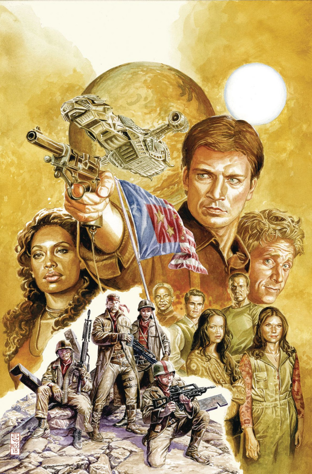 Firefly #1 (15 Copy Jones Cover)