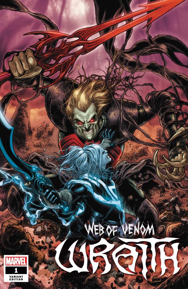 Web of Venom: Wraith #1 (Ryp Cover)