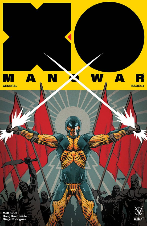 X-O Manowar #4 (Johnson Cover)