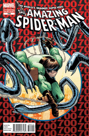 The Amazing Spider-Man #700 (2nd Printing)