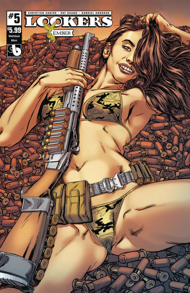 Lookers: Ember #5 (Shellshock Bikini Cover)