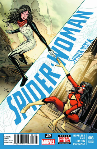 Spider-Woman #3 (Land 2nd Printing Cover)