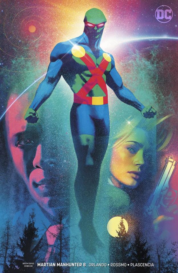 Martian Manhunter #8 (Variant Cover)