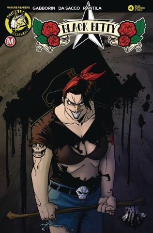 Black Betty #4 (Maccagni Tattered & Torn Cover)