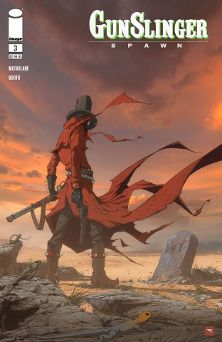 Gunslinger Spawn #3 (Revolver Cover)