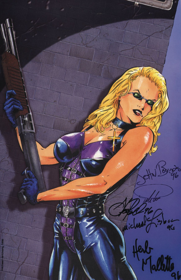 Shotgun Mary #1 (Shooting Gallery Commemorative Signed Cover)
