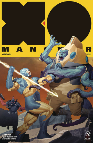 X-O Manowar #11 (20 Copy Olivetti Cover)