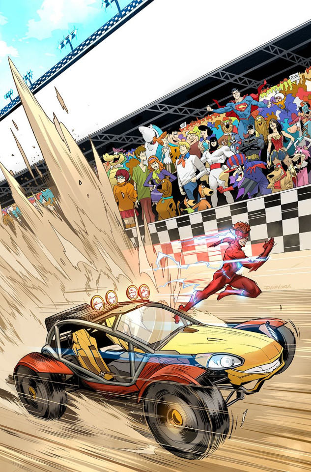 The Flash / Speed Buggy Special #1 (Variant Cover)