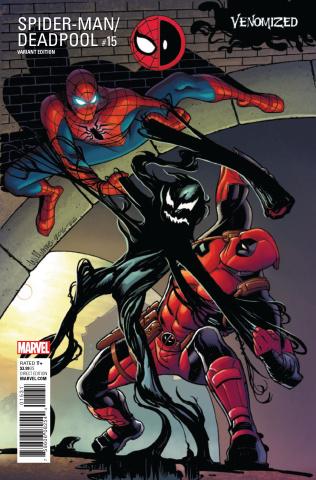 Spider-Man / Deadpool #15 (Williams Venomized Cover)
