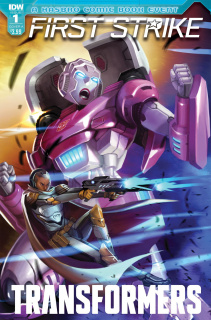 The Transformers: First Strike #1 (Pitre-Durocher Cover)