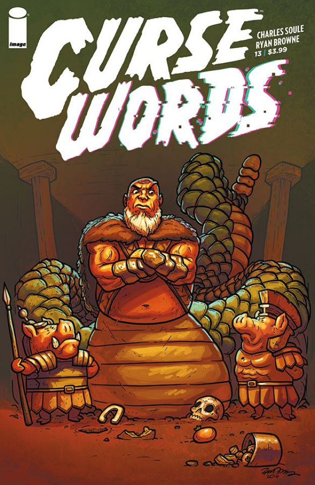 Curse Words #13 (Cannon Cover)