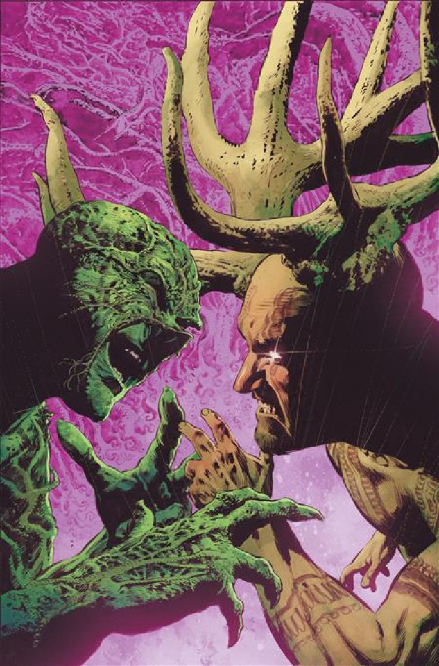 Swamp Thing #9 (Mike Perkins Cover)