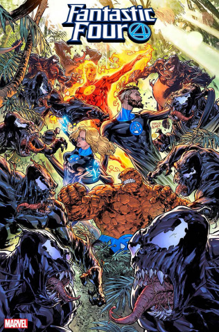 Fantastic Four #17 (Gomez Venom Island Cover)