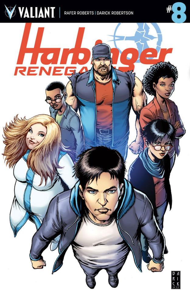 Harbinger: Renegade #8 (Robertson Cover)