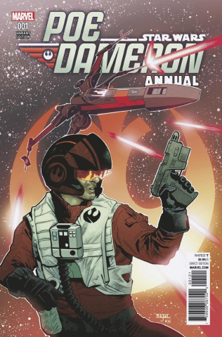 Star Wars: Poe Dameron Annual #1 (Asrar Cover)