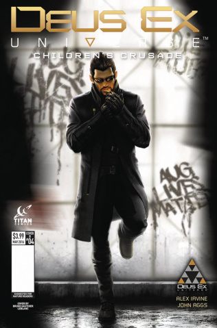 Deus Ex #4 (Leblanc Cover)
