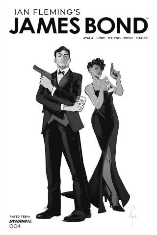 James Bond #4 (20 Copy Richardson B&W Tint Cover)