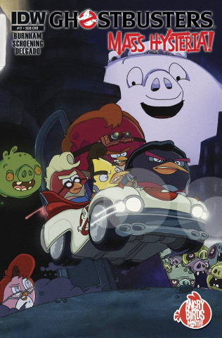 Ghostbusters #17 (Angry Birds Cover)