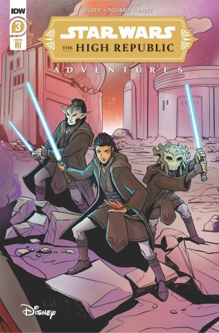 Star Wars: The High Republic Adventures #3 (10 Copy Yael Nath Cover)