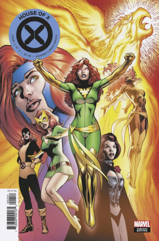 House of X #2 (Davis Character Decades Cover)