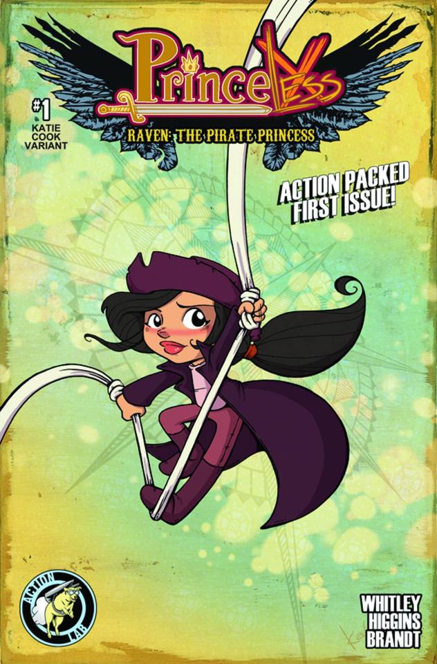 Princeless: Raven, The Pirate Princess #1 (Cook Cover)