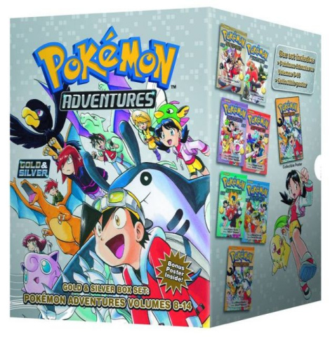 Pokemon Adventures Box Set Vol. 2