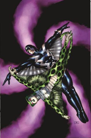 Spider-Island #1 (Inhumans 50th Anniversary Cover)