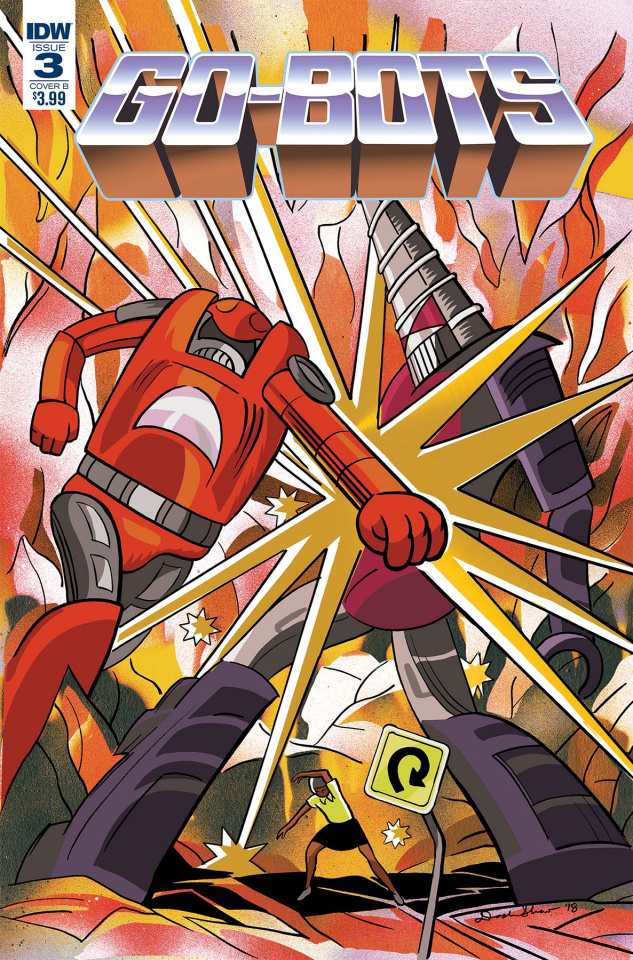 Go-Bots #3 (Shaw Cover)