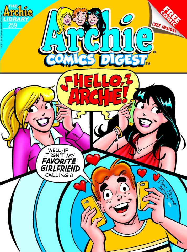 Archie Comics Digest #259