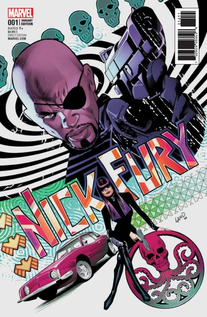 Nick Fury #1 (Land Cover)