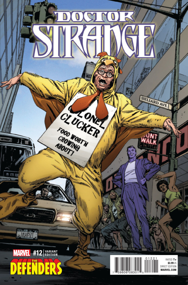 Doctor Strange #12 (Defenders Cover)
