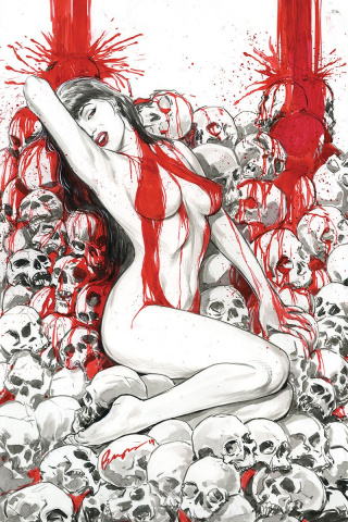 Vengeance of Vampirella #2 (10 Copy Buzz Virgin Cover)