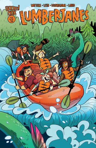 Lumberjanes #52 (Subscription Dozerdraws Cover)