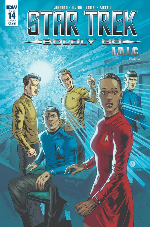 Star Trek: Boldly Go #14 (Kowalski Cover)
