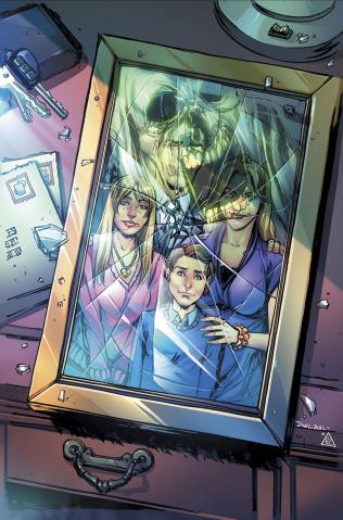 Spirit Hunters #7 (Leister Cover)