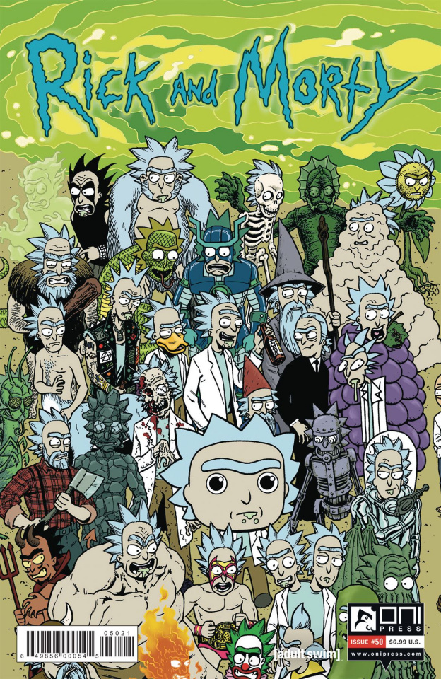 Rick and Morty #50 (Horak Rick Connecting Cover)