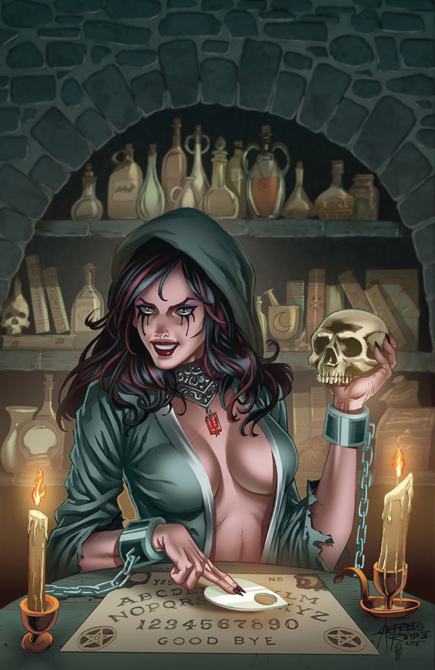 Grimm Fairy Tales: Tales of Terror #12 (Reyes Cover)