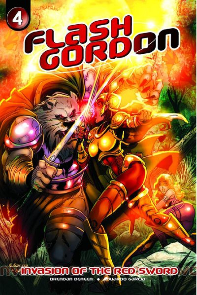 Flash Gordon: Invasion of the Red Sword #4