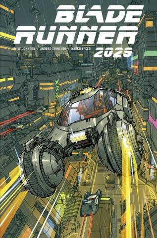 Blade Runner 2029 #9 (Parr Cover)