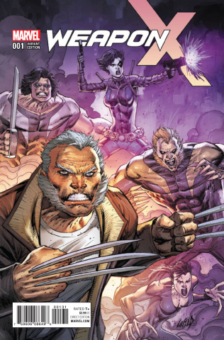 Weapon X #1 (Liefeld Cover)