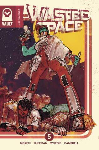 Wasted Space #5 (Sherman Cover)