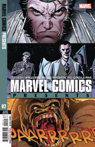Marvel Comics Presents #2 (Siqueira 2nd Printing)