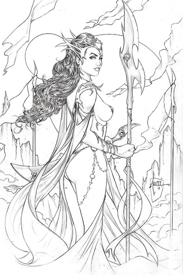 Dejah Thoris #1 (10 Copy Tucci Pencil Cover)