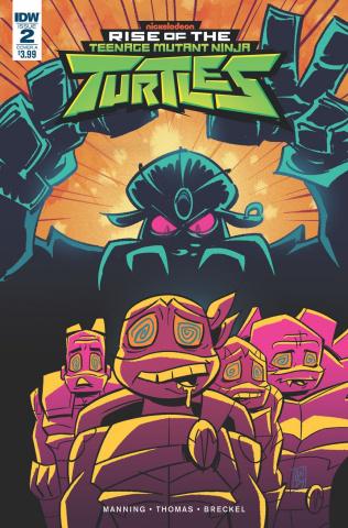 Rise of the Teenage Mutant Ninja Turtles #2 (Suriano Cover)