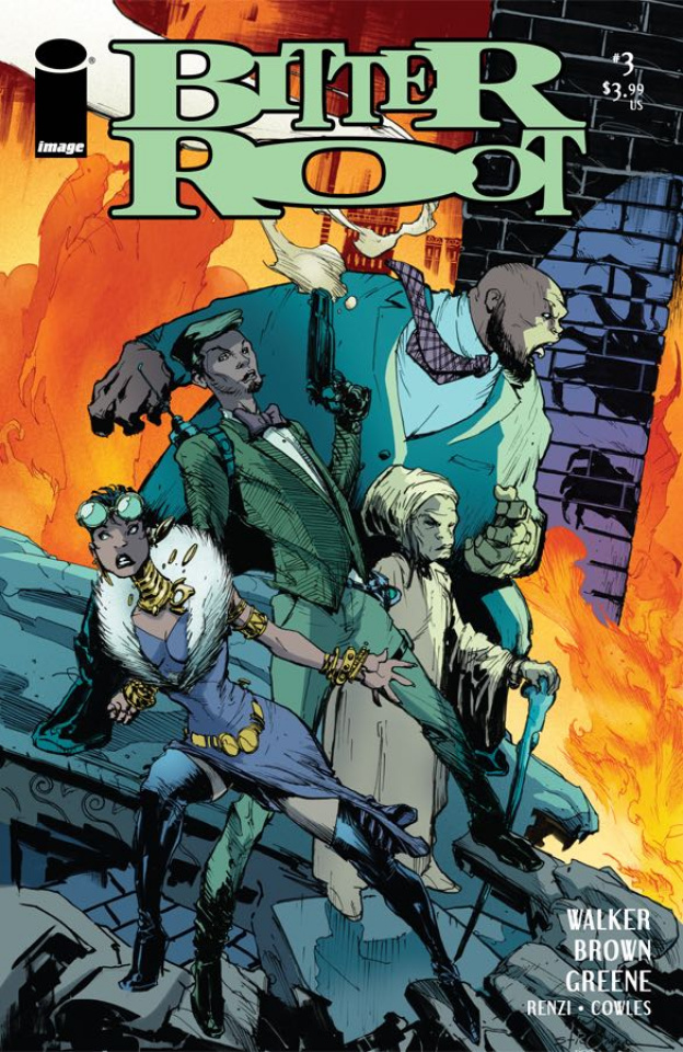 Bitter Root #3 (Stroman Cover)
