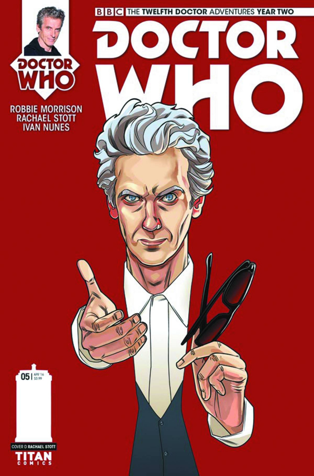 Doctor Who: New Adventures with the Twelfth Doctor, Year Two #5 (10 Copy Cover)