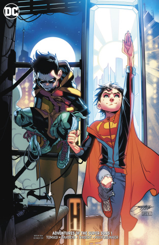 Adventures of the Super Sons #1 (Variant Cover)