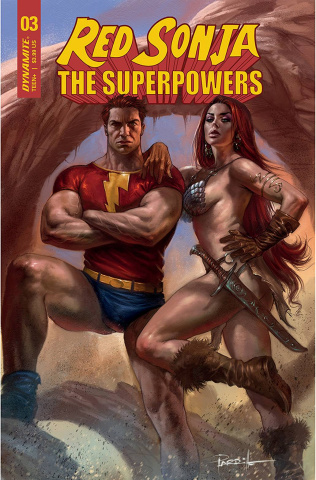 Red Sonja: The Superpowers #3 (Parrillo Cover)