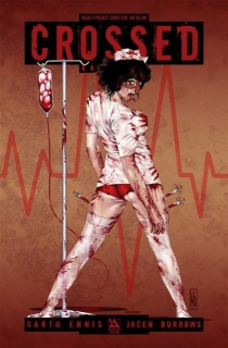 Crossed: Badlands #4 (PCC Nurse Cover)