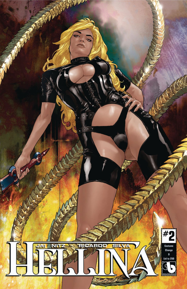Hellina #2 (Costume Change Cover)